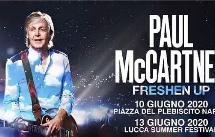 Paul McCartney 2020Event Naples Special Offer
